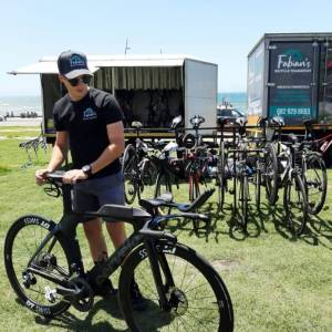 Races Fabian's Bicycle Transport services